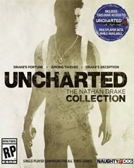 Uncharted: The Nathan Drake Collection Box Art