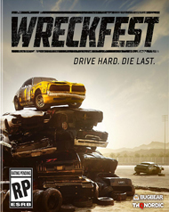 Wreckfest Cover Art