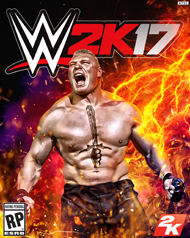 WWE 2K17 Cover Art