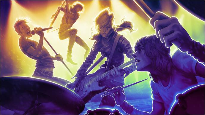 Rock n' Roll Dreams Do Come True in Rock Band 4