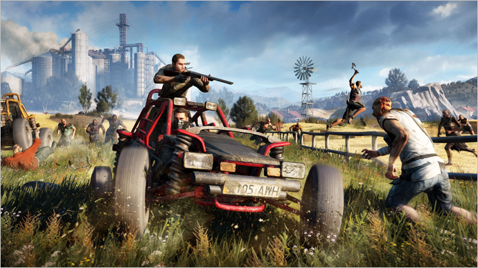 Dying Light Goes Rural in The Following