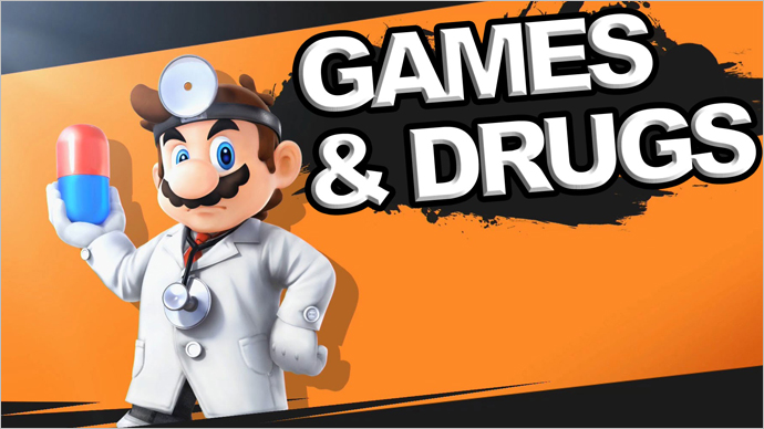 Are Games and Drugs a Great Combination?