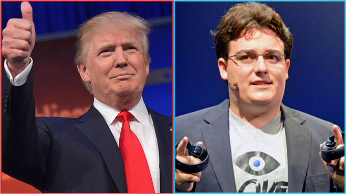 Why You're Wrong About Palmer Luckey and Donald Trump