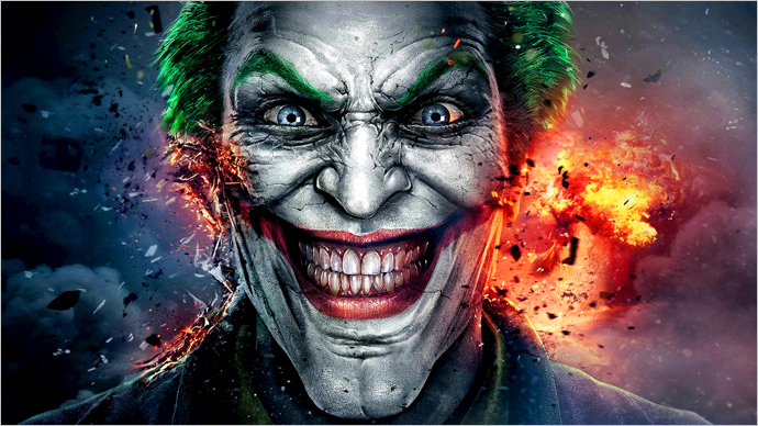 A Video Game Tribute to The Joker!