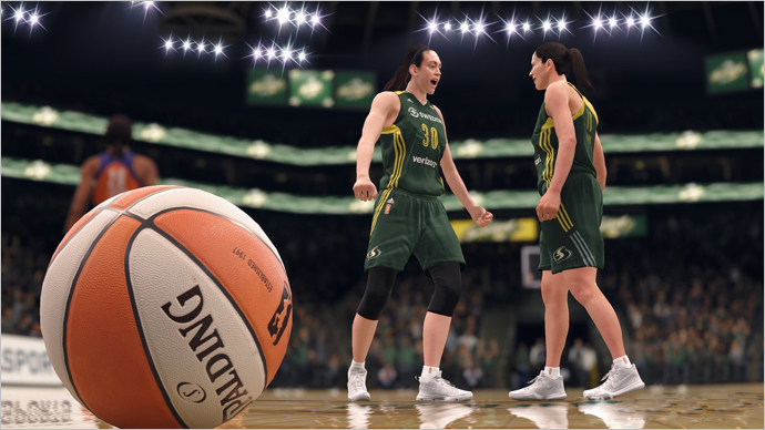 How EA Just Put the WNBA On the Gaming Map