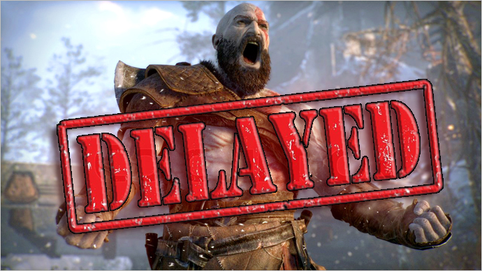 [APRIL FOOLS] Sony Announces God of War Delay