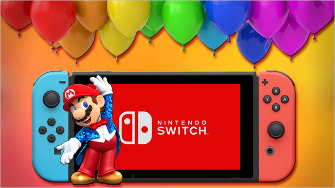 A Look Back at the Nintendo Switch's First Year