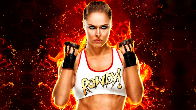 Will Ronda Rousey Slam WWE 2K19 or Tap Out?