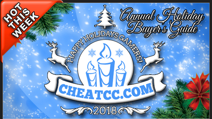 CheatCC's 2018 Holiday Buyer's Guide